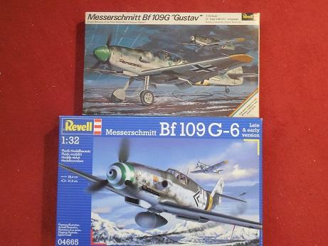 Bf 109 G-6 et G-10 Revell 1/32ème Dscn3110