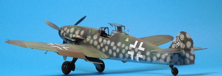 Revell 1/32 Bf 109 G-6 Wunsdorf Dscn3415