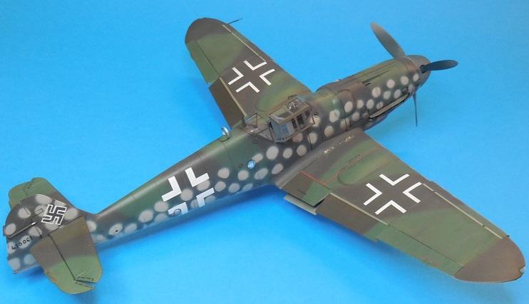 Revell 1/32 Bf 109 G-6 Wunsdorf Dscn3418