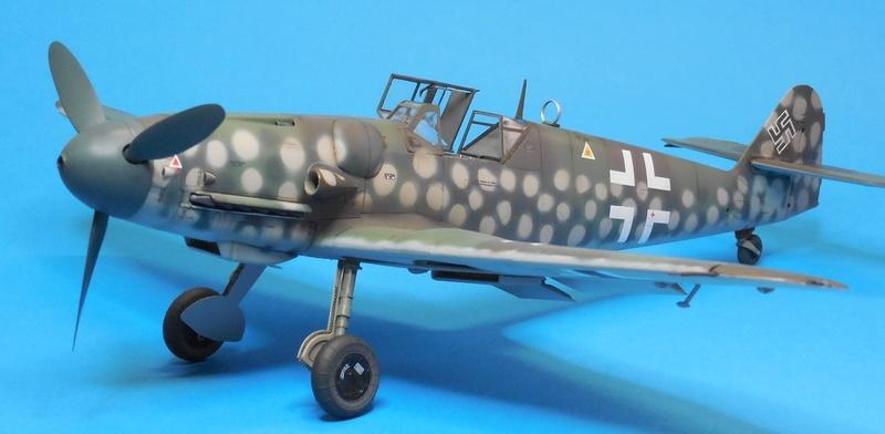 Revell 1/32 Bf 109 G-6 Wunsdorf Dscn3421