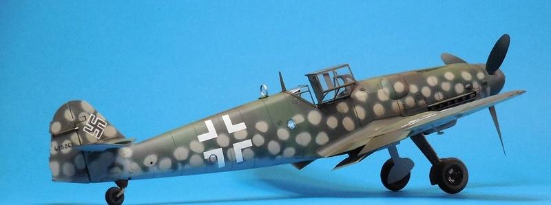 Revell 1/32 Bf 109 G-6 Wunsdorf Dscn3422