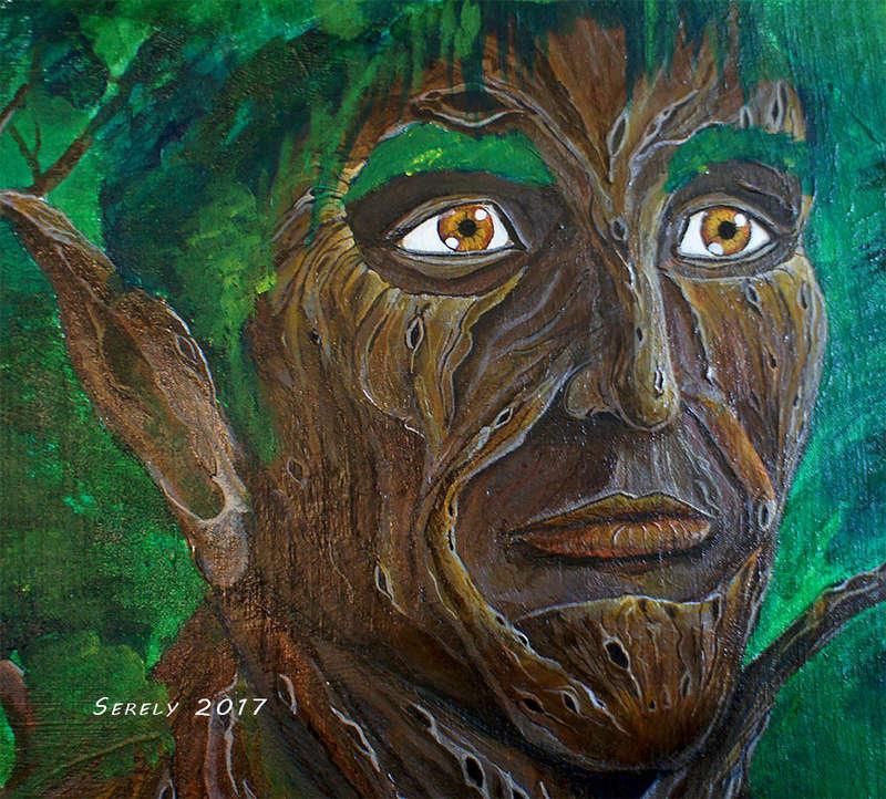 Serely's Art - des toiles et du Puik Humain10
