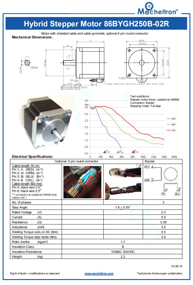 tension des moteurs PaP Moteur11