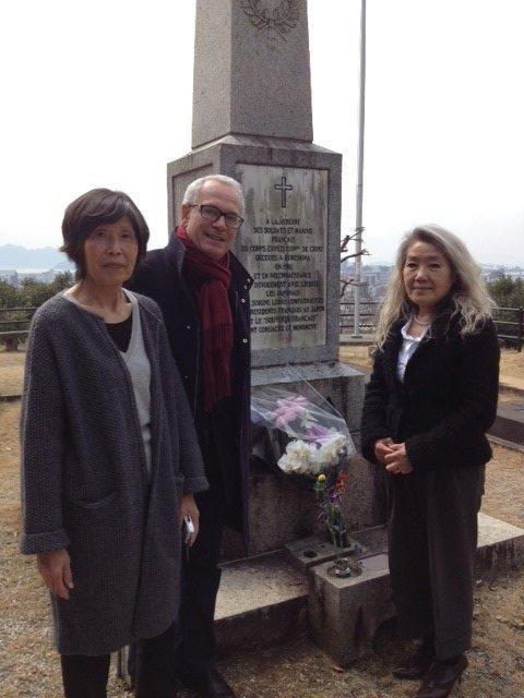 Sept soldats Francais inhumes a Hiroshima -Japon -exhumés Image-13
