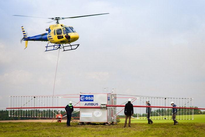 L'hélicoptère au service de la recherche spatiale - Juice-10