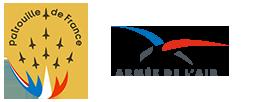 Retro - Patrouille de France et les Pilatus * Suisse Logo-m10