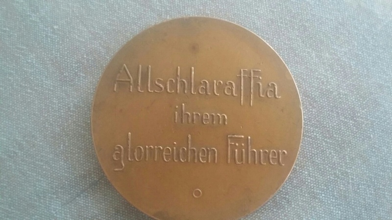 Identification medaille société occulte pour le fuhrer 20170614
