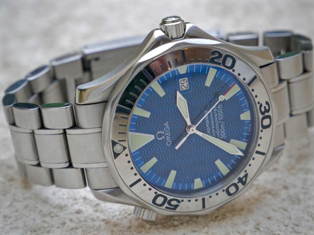 seamaster - [Vends] [Echange] Omega Seamaster 300 peter blake electric blue - 1900e P1050117