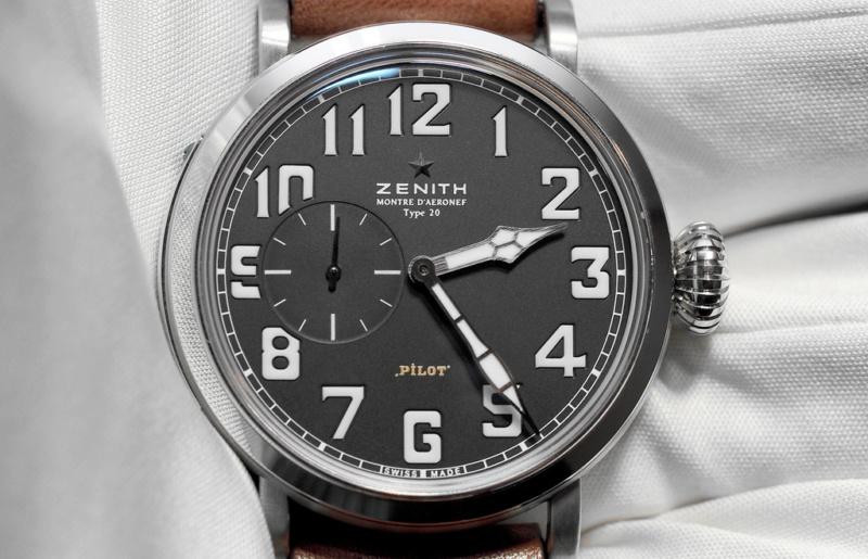 La montre de pilote par excellence - Pilot Type 20 Extra Special - Page 3 Zenith10