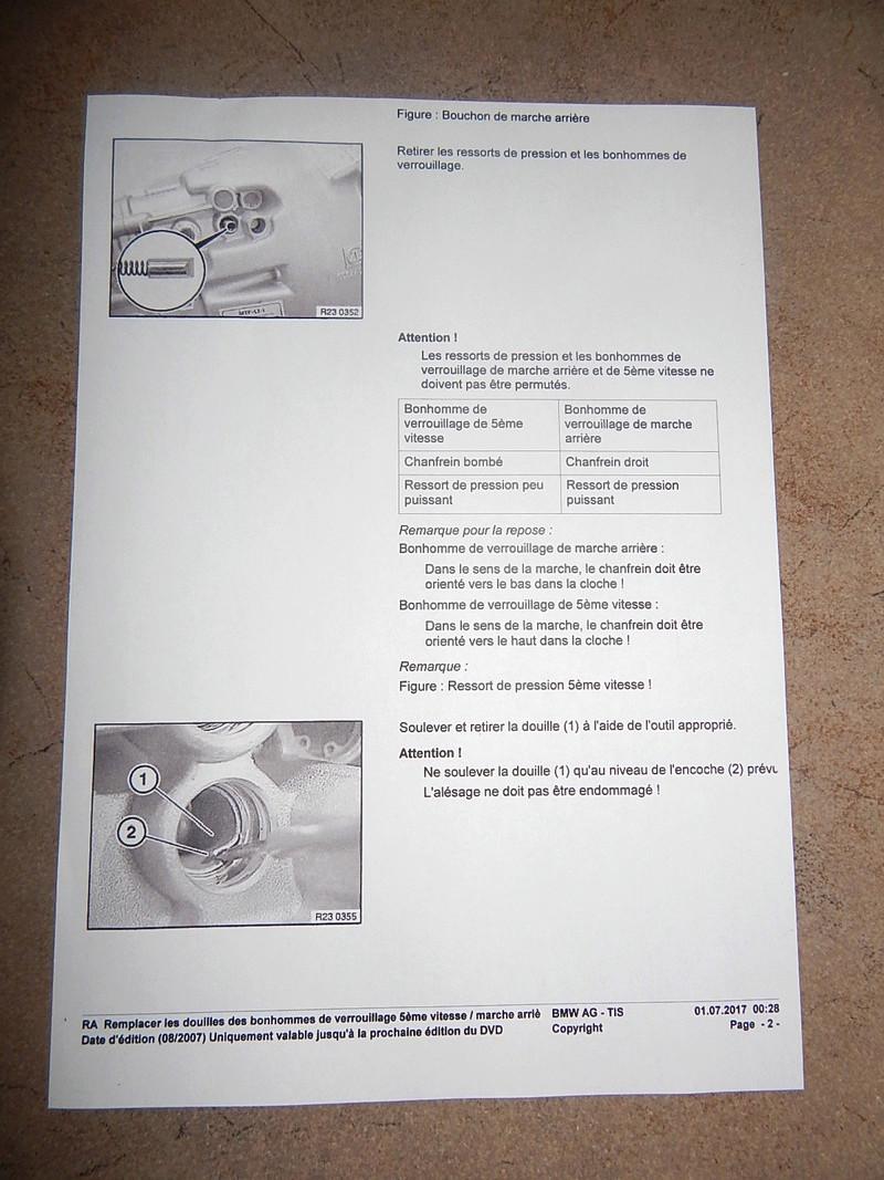 [ BMW E46 320D M47 an 1998 ] Levier vitesse ne revient pas à sa place Dscn5115