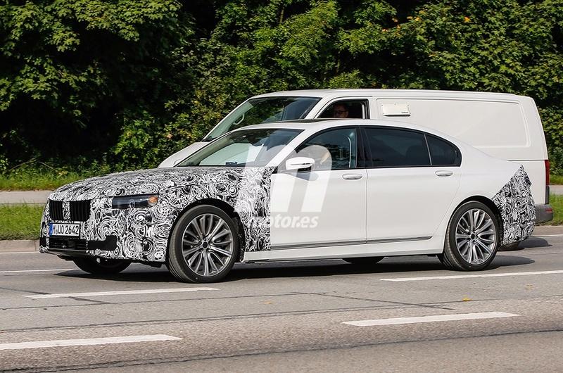 2019 - [BMW] Série 7 restylée  11f09e10