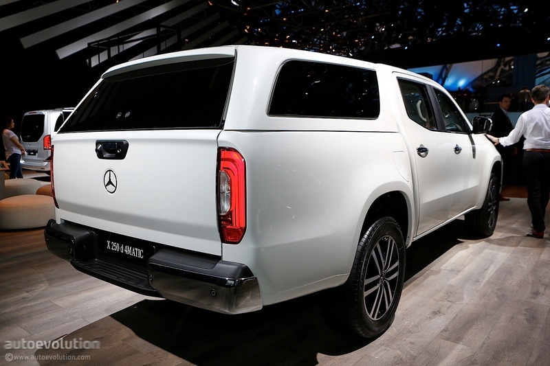 2017 - [Mercedes] Classe X Pickup - Page 5 1458f010