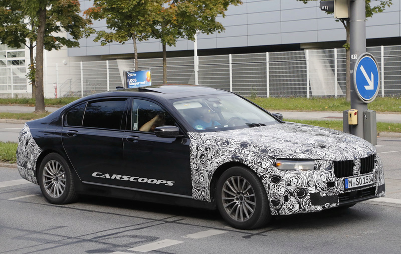 2019 - [BMW] Série 7 restylée  57ebc610