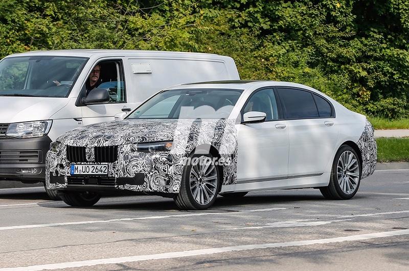 2019 - [BMW] Série 7 restylée  6e9f5e10