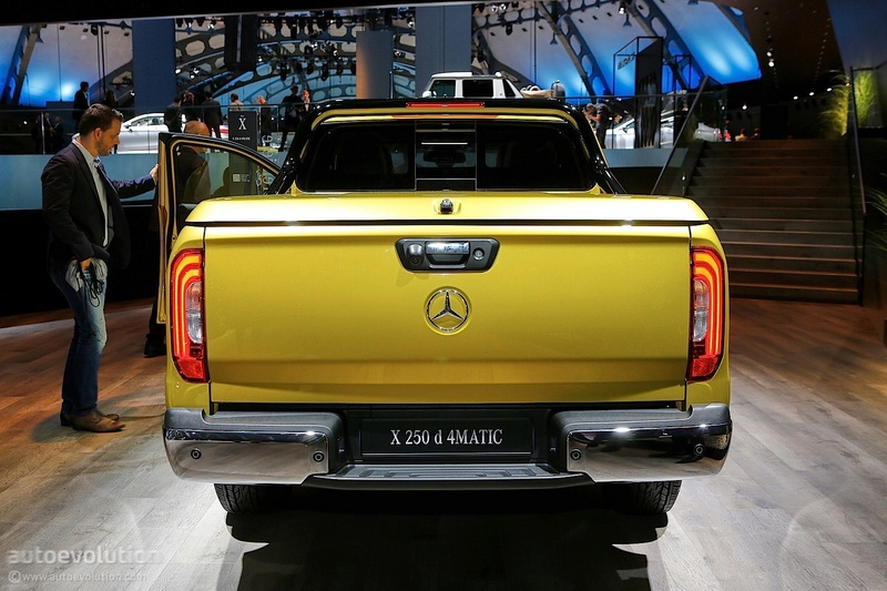 2017 - [Mercedes] Classe X Pickup - Page 5 70e49911