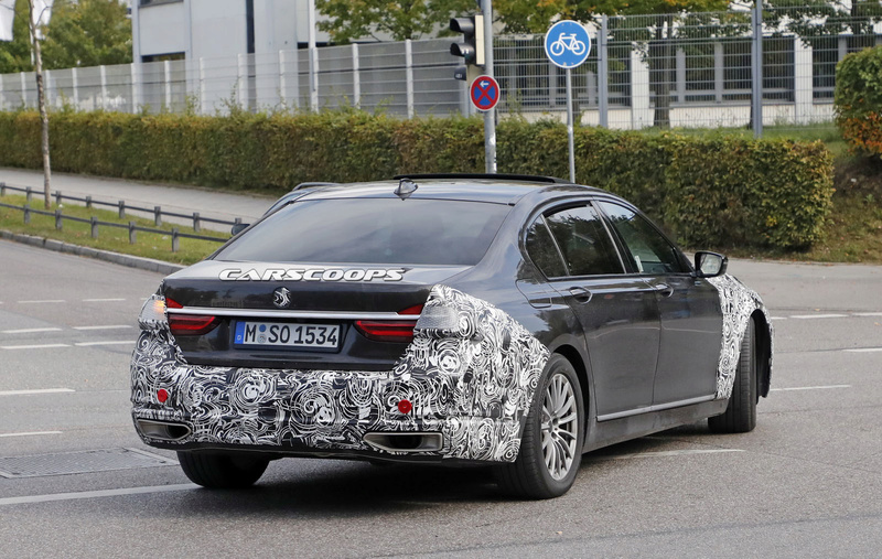 2019 - [BMW] Série 7 restylée  782d8610
