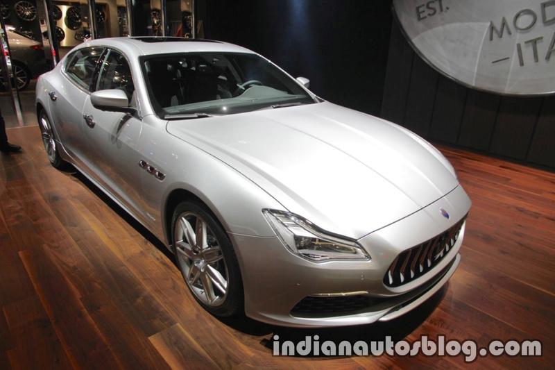 2017 - [Maserati] Quattroporte restylée 9e722910