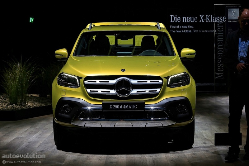 2017 - [Mercedes] Classe X Pickup - Page 5 C8994911