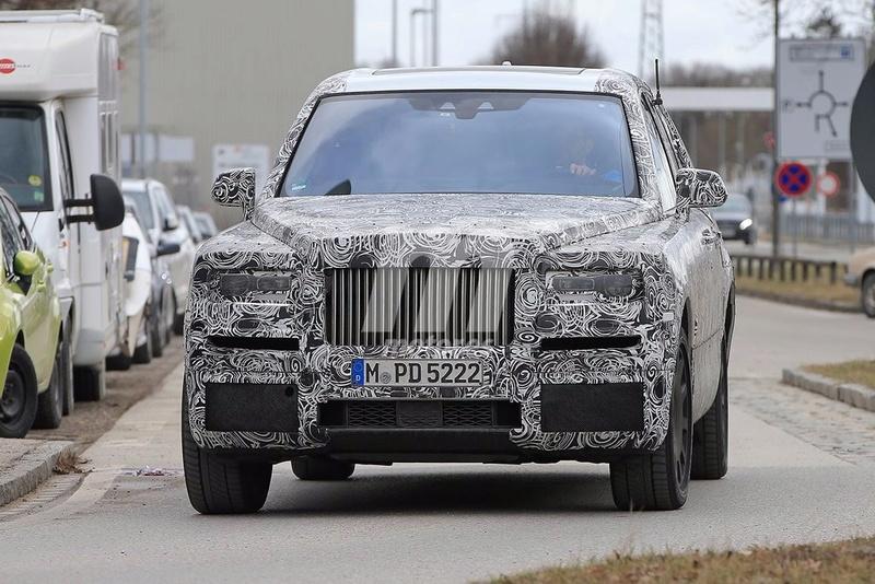 2017 - [Rolls-Royce] SUV Cullinan - Page 8 Rolls-18