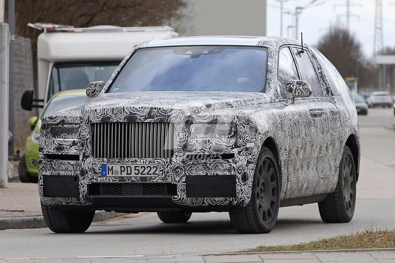 2017 - [Rolls-Royce] SUV Cullinan - Page 8 Rolls-19