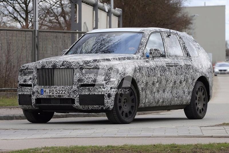 2017 - [Rolls-Royce] SUV Cullinan - Page 8 Rolls-20