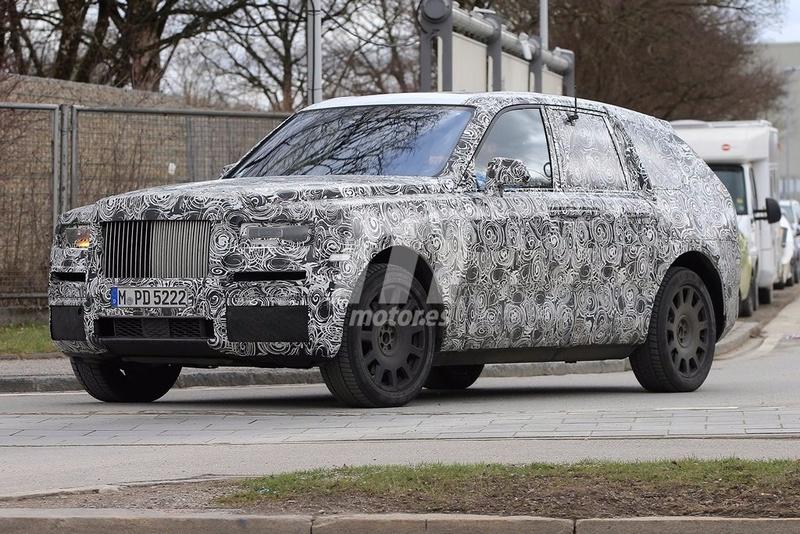 2017 - [Rolls-Royce] SUV Cullinan - Page 8 Rolls-21