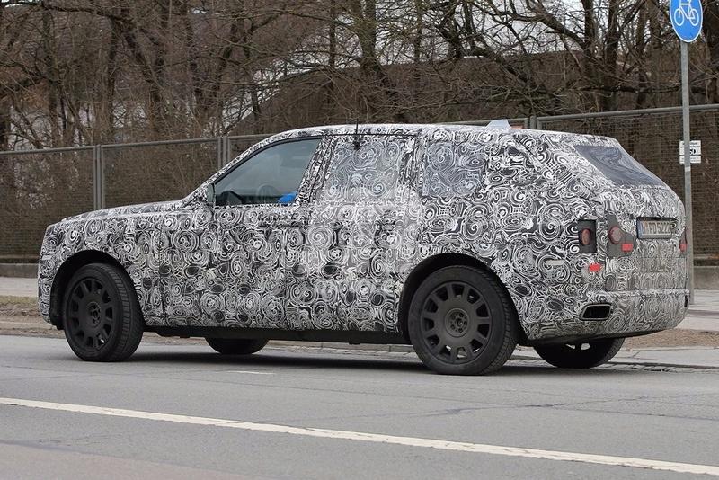 2017 - [Rolls-Royce] SUV Cullinan - Page 8 Rolls-25