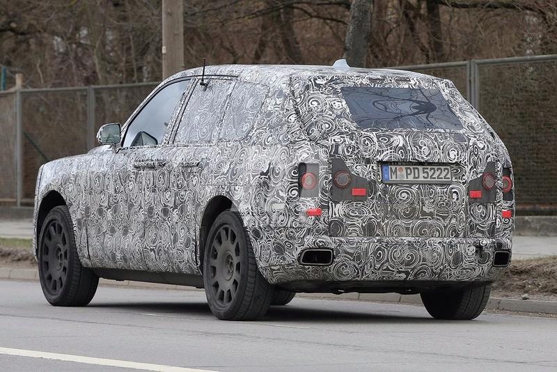 2017 - [Rolls-Royce] SUV Cullinan - Page 8 Rolls-27