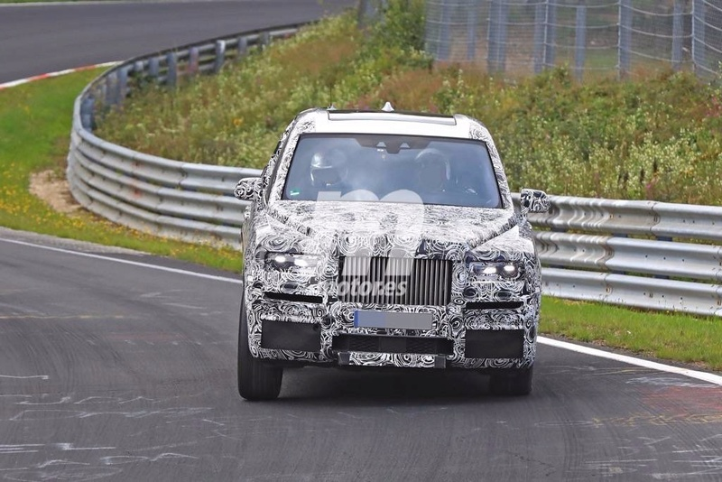 2017 - [Rolls-Royce] SUV Cullinan - Page 8 Rolls-29