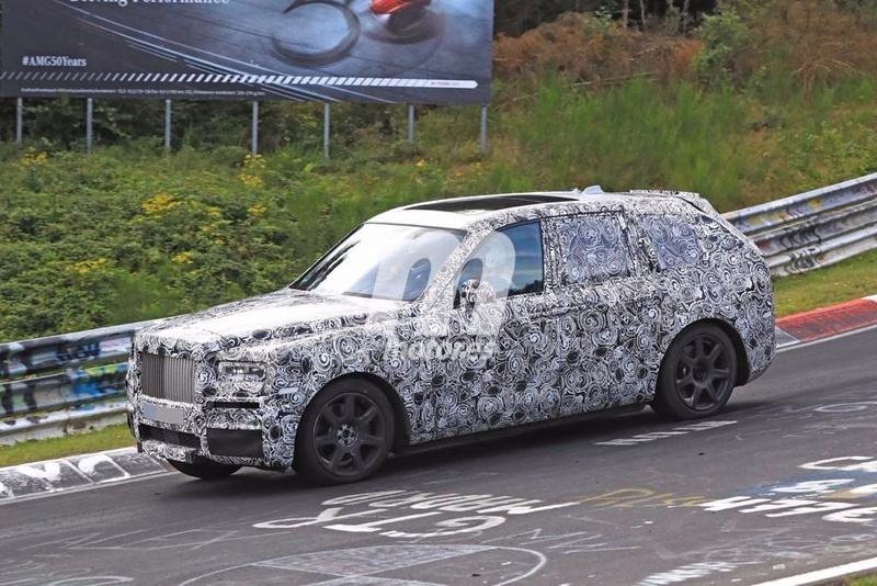 2017 - [Rolls-Royce] SUV Cullinan - Page 8 Rolls-31