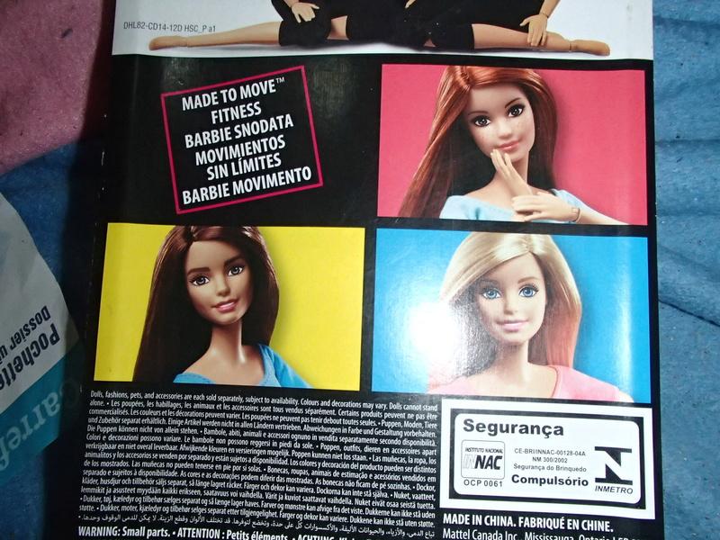Youpi, voici ma 1ere vrai Barbie ARTICULEE 2019-047