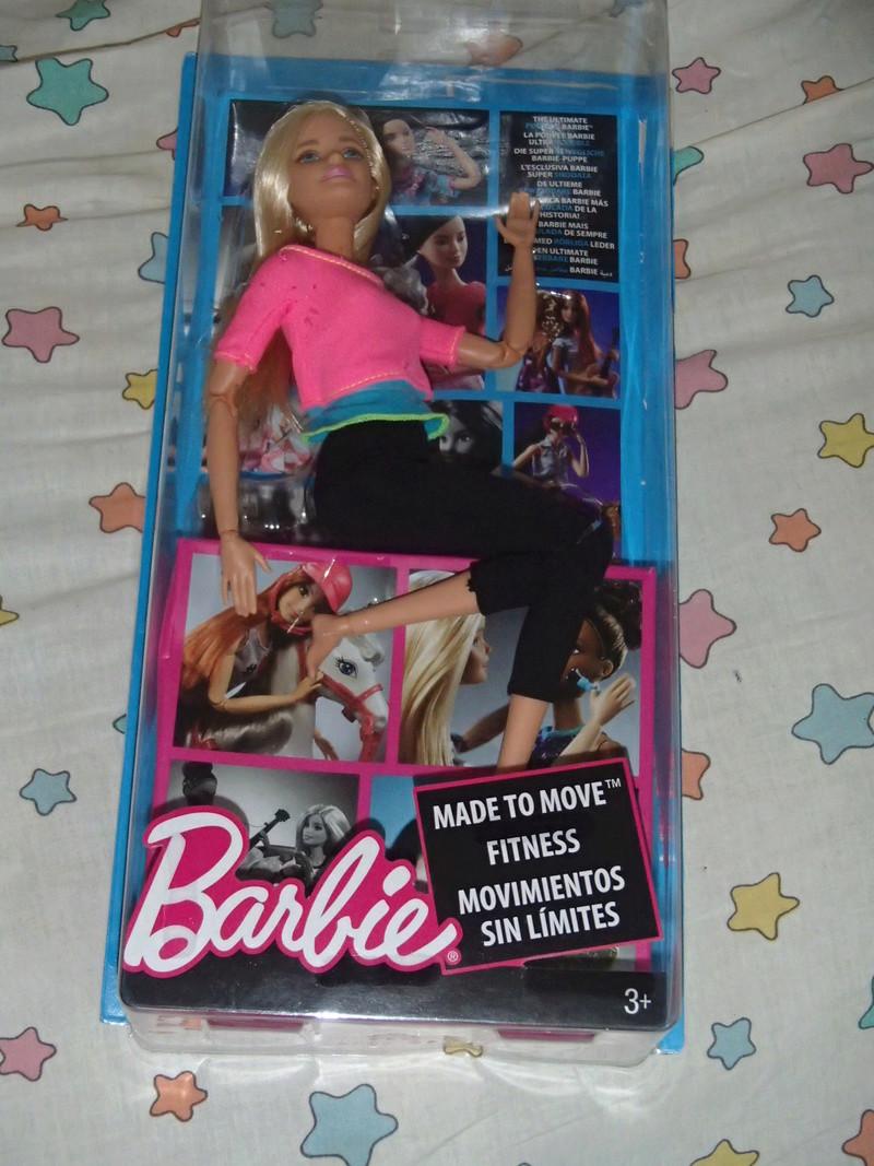 Youpi, voici ma 1ere vrai Barbie ARTICULEE 2019-048