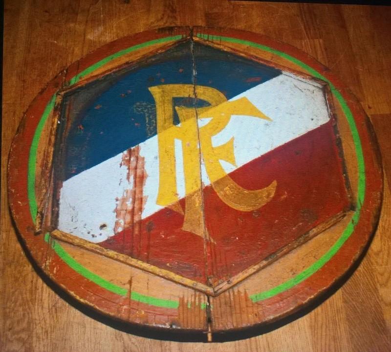Plaque en bois République française Wp_20116