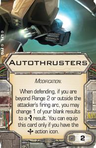 X-Wing le jeux de plateau Autoth10