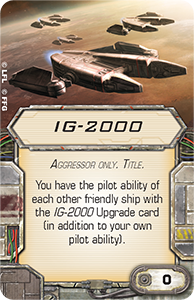 X-Wing le jeux de plateau Ig-20010