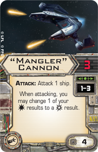 X-Wing le jeux de plateau Mangle10