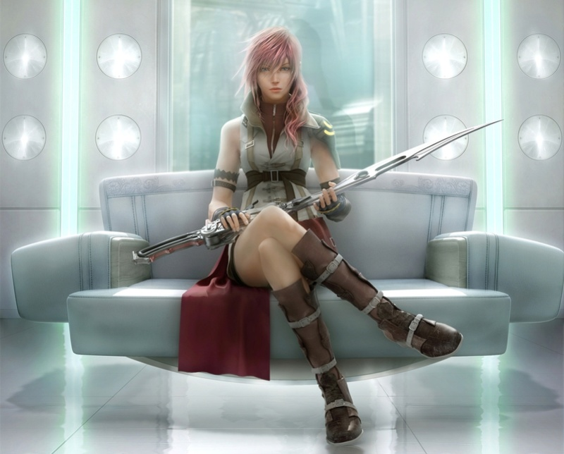 lightning from final fantasy released. Goodwp10