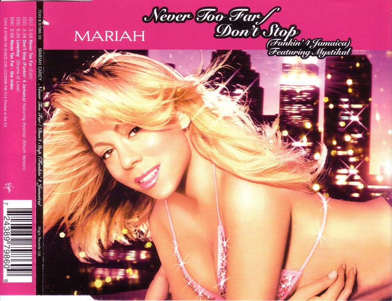 Mariah Carey - Never Too Far & Don't Stop (Funkin' 4 Jamaica) (Single) Book_010