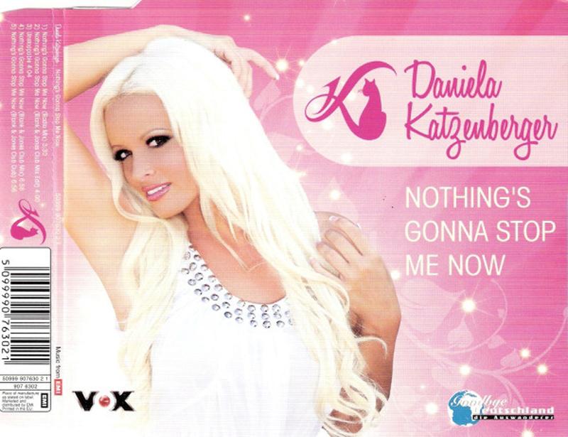 Daniela Katzenberger - Nothings Gonna Stop Me Now (Maxi) Daniel10