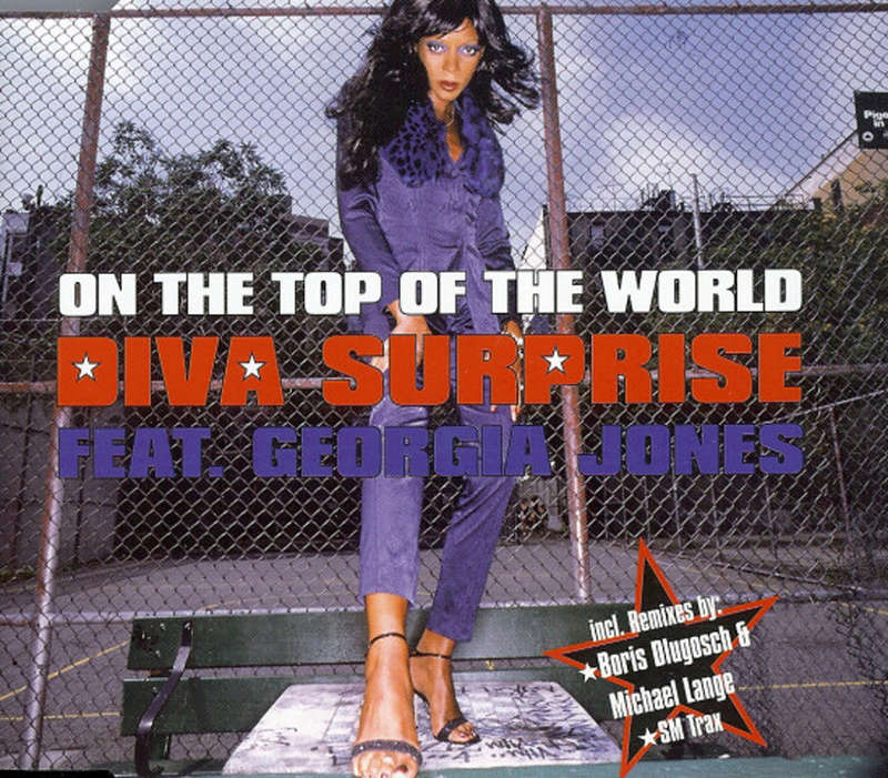 Diva Surprise Ft Georgia Jones - On The Top Of The World (Maxi) Diva_s10