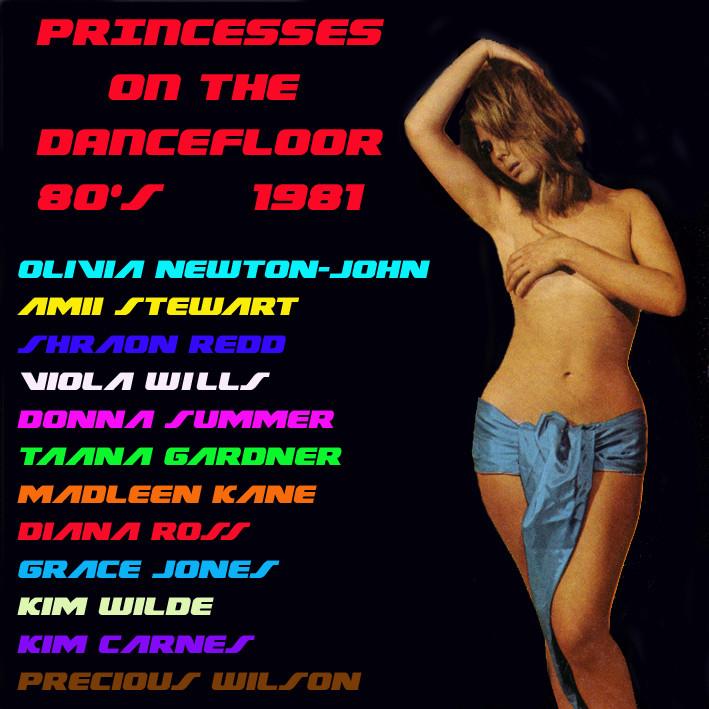Princesses On The Dancefloor 80's 1981 Prince11