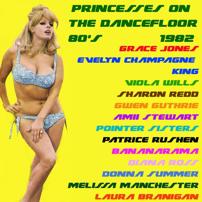 Princesses On The Dancefloor 80's 1982 Prince12