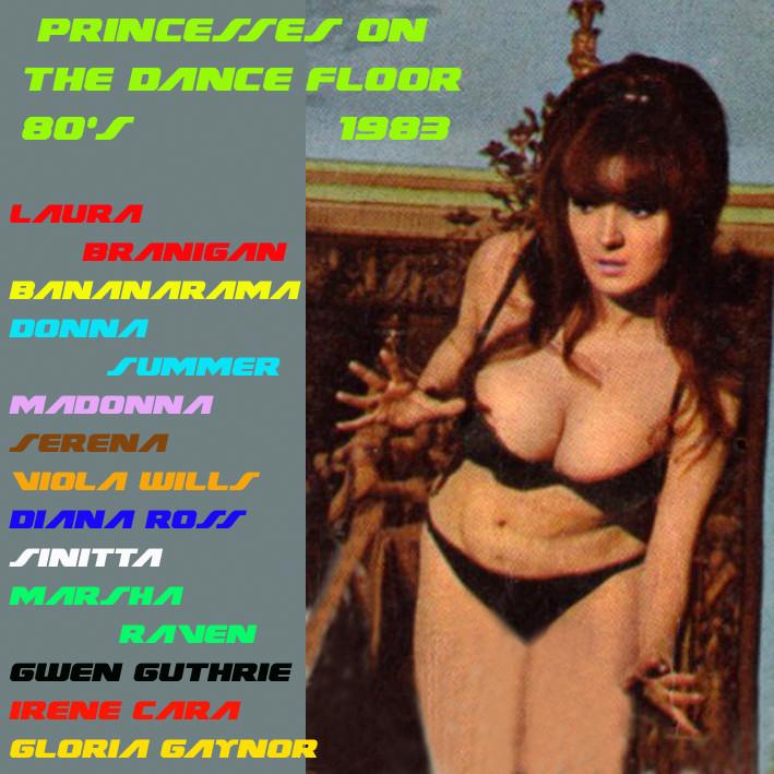 Princesses On The Dancefloor 80's 1983 Prince13