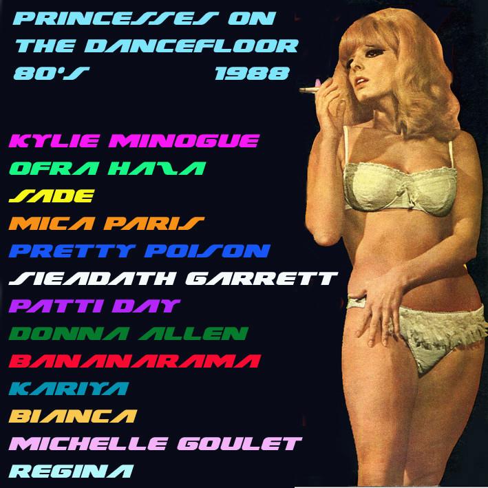 Princesses On The Dancefloor 80's 1988 Prince18