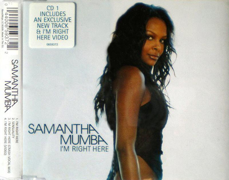 Samantha Mumba - I'm Right Here (Maxi Cd) Samant11