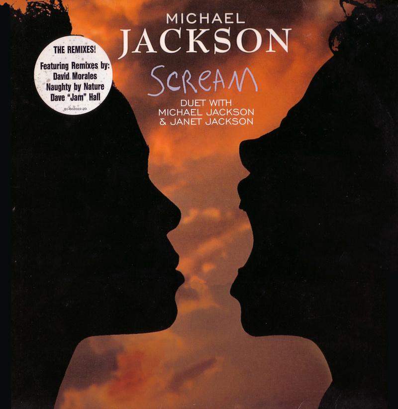 Michael Jackson & Janet Jackson - Scream (12'' Vinil) Scream10