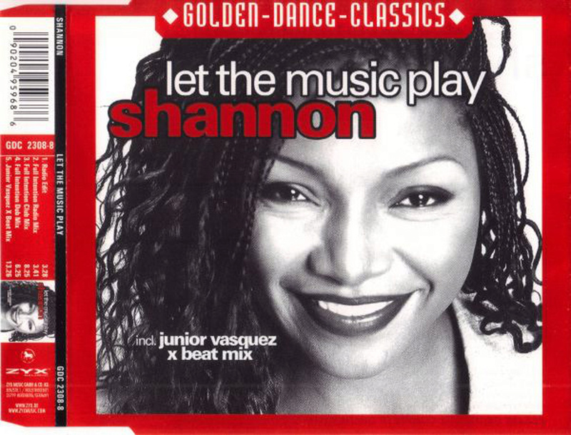Shannon - Let The Music Play (Full Intention Remixes) Shanno11