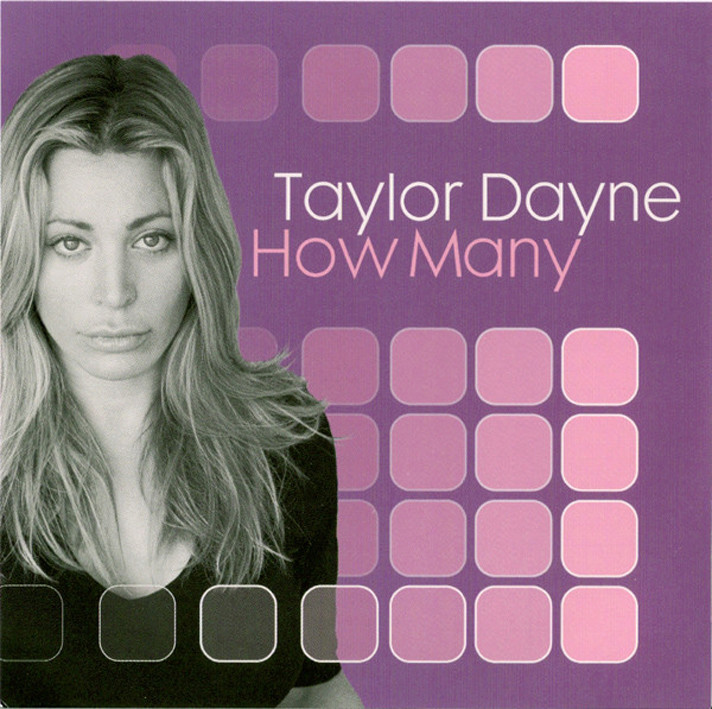 Taylor Dayne - How Many (Remixes) Taylor10