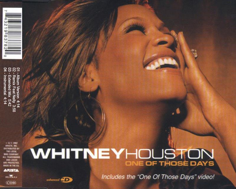 Whitney Houston - One Of Those Days (Maxi Cd) Whitne12