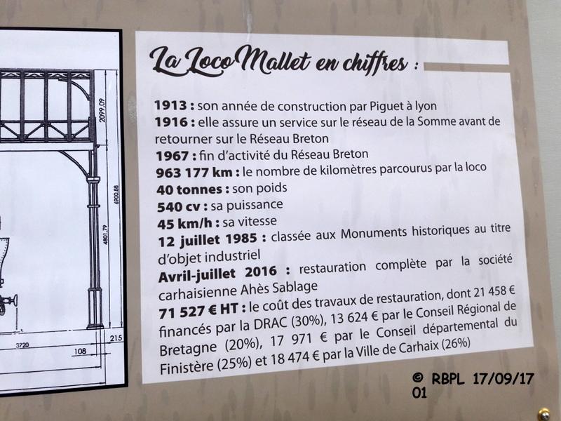 """BALADE A CARHAIX 17/09/17 (5)CARHAIX : LA """"VENERABLE MALLET""""T030+030T 20170530"""